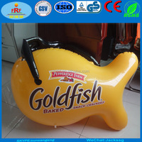 Promo PVC Inflatable Goldfish with Glasses