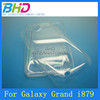 for galaxy grand i879 crystal clear transparent plastic hard back case