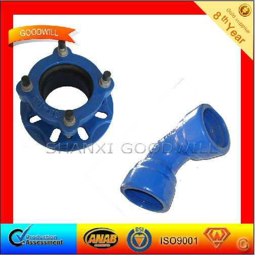 45' Ductile iron Double Socket Bend