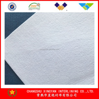 Needle-punched nonwoven fabric 300g solid cotton nonwoven cloth fabric textile the latest technology wholesale low price