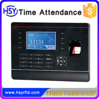 Color display Fingerprint attendance punching machine