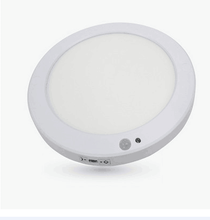Chicoyo Surface Mounted Round PIR Motion Sensor and Photocell Sensor LED Panel Light