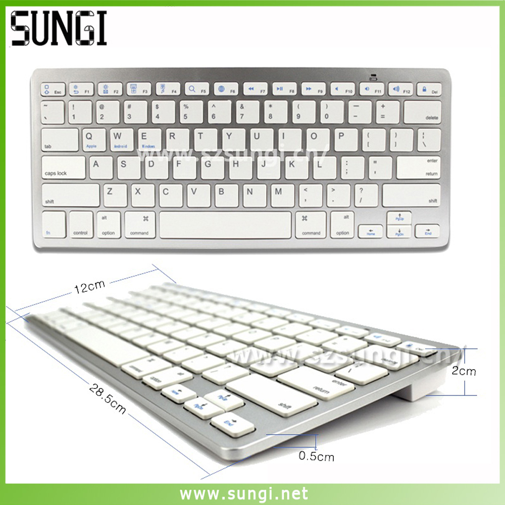 Top selling mini wireless bluetooth keyboard 3.0 for tablets / android tv box / phone
