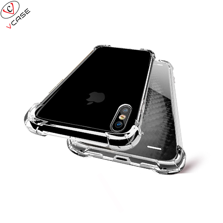 VCASE Wholesale Phone Accessories Clear Hard Acrylic Phone Case For Iphone 7 7plus 8 8plus X XS MAX <strong>Cover</strong>
