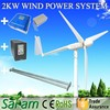 2KW Off-Grid System Electric Generating Windmills For Sale