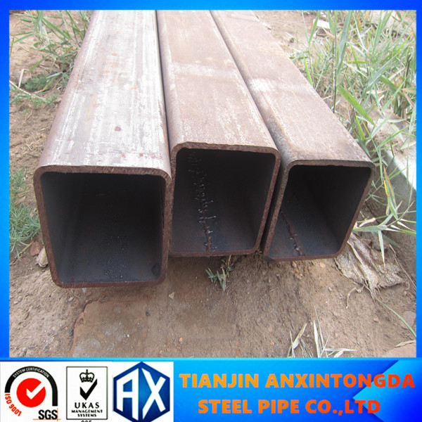 15X15 square tube production line/square steel tubing strength/ss400 square tube