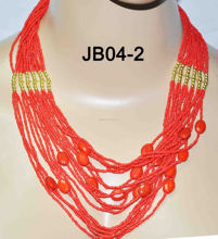 traditional beaded jewelry set fashionable costume jewelry african beads jewelry set in guangzhou