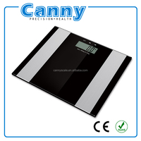 anti slip body fat scale with body mass index and sport mode function