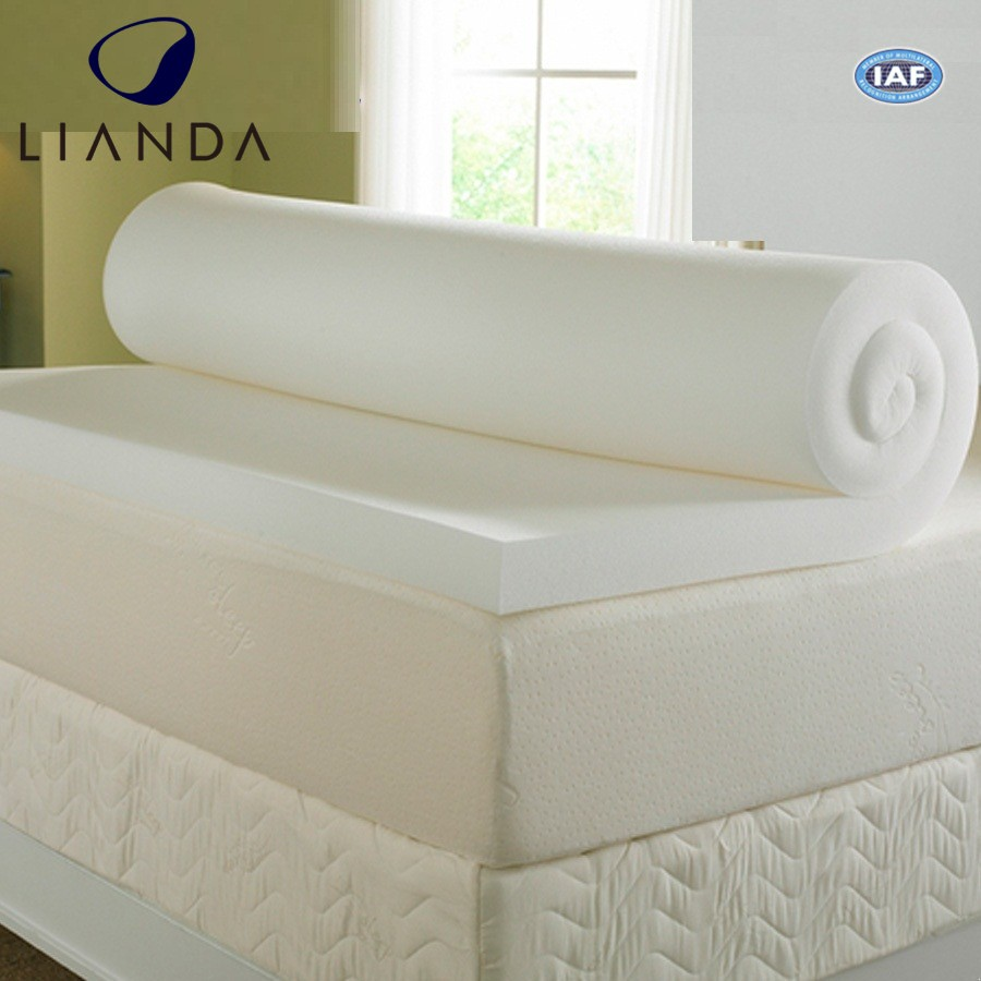 Hotel Rolled Up Chinese Wholesale Super King Size Sleepwell Foldable Spring Topper Bed Waterproof Protector Memory Foam Mattress