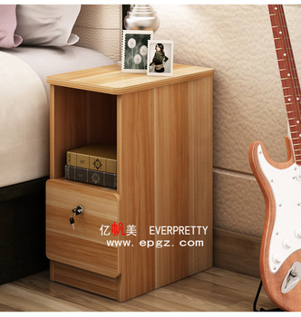 High quality bedroom furniture night stand wood bed side table wooden with drawers for sale