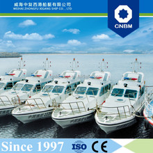 CE Certification and Fiberglass Hull Material 12m 39ft Fast Workboats High Speed Patrol Boat with Prices