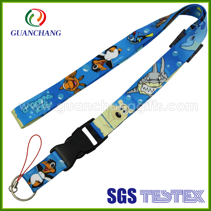 Newly hot phone case cheap products promotional polyester or nylon mixed cell phone lanyard China wholesale
