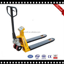Ningbo Cholift factory manufacturer scale hand pallet truck