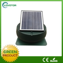 Energy saving thermostat controlled solar exhaust fan got CE