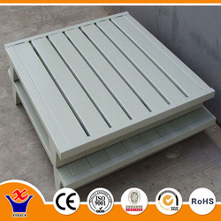 steel euro pallet warehouse double stacking pallets