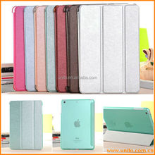 for ipad 5 case cover ,Silk print PU case for ipad 5 with super High quality colorful