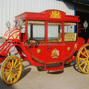 Royal horse drawn carriage horse wagon