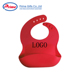 High Quality Easy Wash Silicone Baby Bib/ Bib Baby with Your Logo