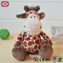 Sitting hight Deer giraffe 35cm plush fancy quality soft stuffed toy