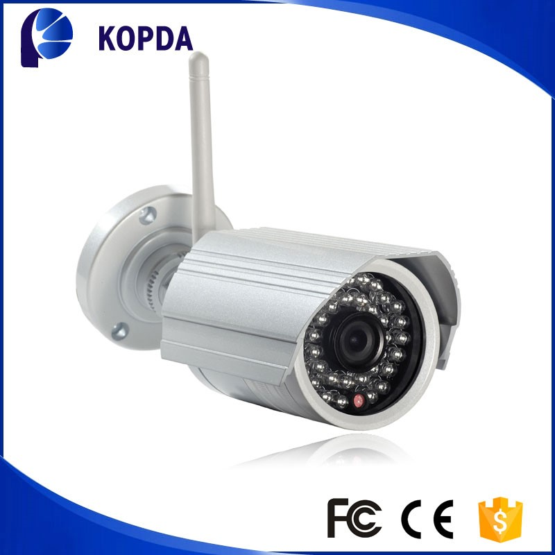 wifi wireless webcam night vision led ir ip camera 3.6mm fixed lens Waterproof Day&Night outdoor