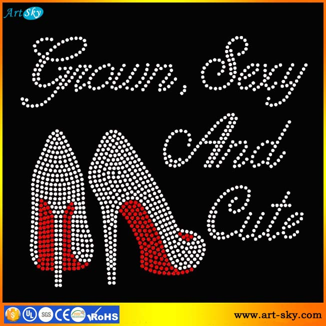 Artsky resealable plastic bags packing Grown Sexy and Cute Heels Stiletto pearl beads craft