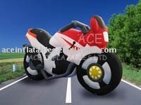 good quality inflatable motorcycle model for advertising