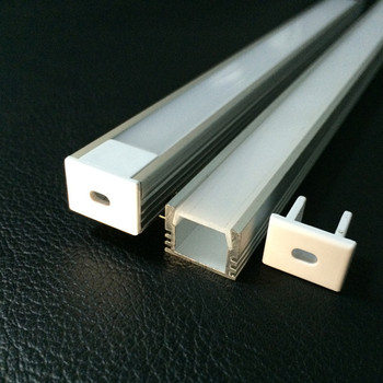 YJ-1616 aluminum recessed channel / led alu profile / led strip aluminum channel