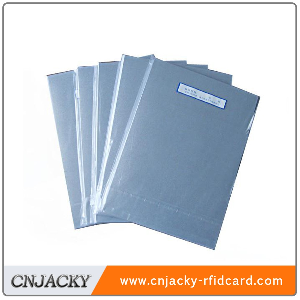 Big Promotion A4 Silver Inkjet Printing PVC Sheet