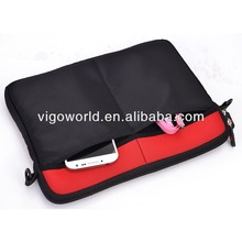 neoprene sleeve case for ipad air with removable strap tablet case