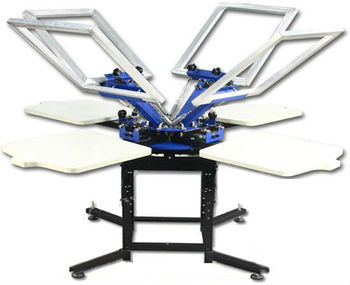 China high quality t shirt screen printing machine for for Screen printing machine for t shirts for sale