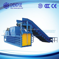 Semi-Automatic Hydraulic paper baler Baling Machine for PET Bottle