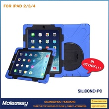 cheap service leather sleeve case for ipad 2/3/4