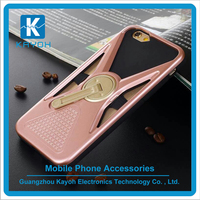[kayoh] 360 degree rotating kickstand stand cover for iphone 6 6s Back Case with Kickstand