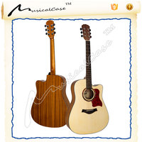 Wholesale acoustic guitar unfinished guitar kit