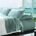 King / Cal-King Sea Color Silky Soft 100% Rayon from Bamboo Duvet Cover Sets