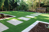 Attractive and maintenance-free artificial carpet grass artificial grass turf