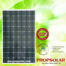 transparent solar panel 200w For Home Use W ith CE,TUV,UL,MCS Certificates