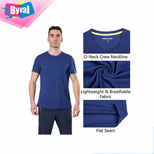 1 Dollar T Shirts Wholesale Active Wear T-Shirt Quick Dry Moisture Wick Running Sport Tee