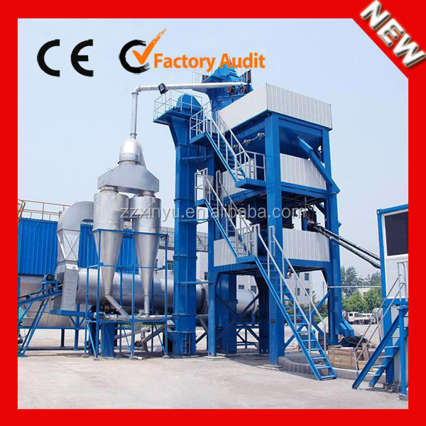 Road construction machinery LB1000 large asphalt batching plant