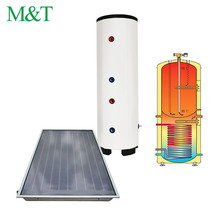 M&T 50-1000L duplex ss exchanger hot water tank 100 liter in india