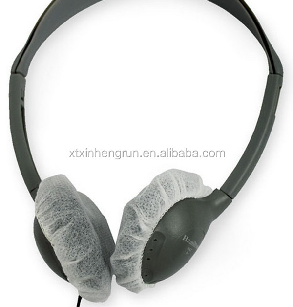 Disposable Airplane Ear Cover,Nonwoven disposable ear cover,Disposable ear cover ear phone cover