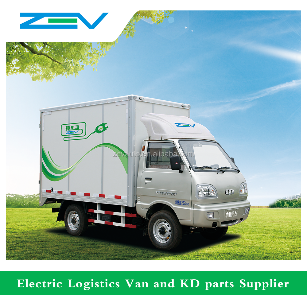 ZEV 1 ton electric light truck for express company