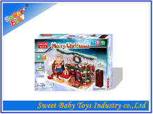 2014 Hot Sale DIY Christmas House Decoration Toy,Promotional DIY Christmas Decoration Toy,Christmas Intelligent Toy