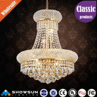 Chinese process ablaze egyptian Crystal CE and UL Delicate hotel lighting