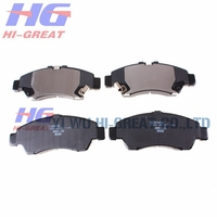 Auto spare parts brake parts of Toyota Hiace bus brake pads OEM A135K