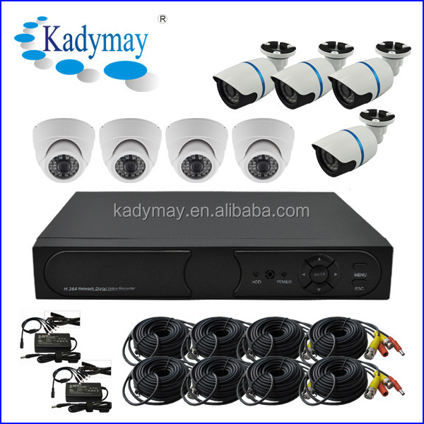 Home Security system, 8chs Economic CCTV DVR KIT