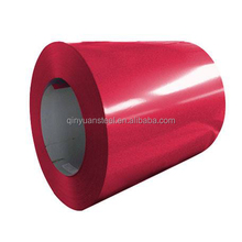 ral 3024 luminous red color coated steel coil, prepainted steel coil for wall construction