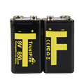 9V 650mAh Rechargeable battery 9v Lithium ion Rechargeable Battery