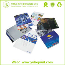 Small order perfect quality favorable price spot UV hardcover sewn binding fabric catalogue book