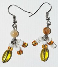 Handmade jewelry Earring Match diy sets with glass beads